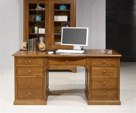 bureau ministre bois massif meuble informatique bois massif maison design modanes com