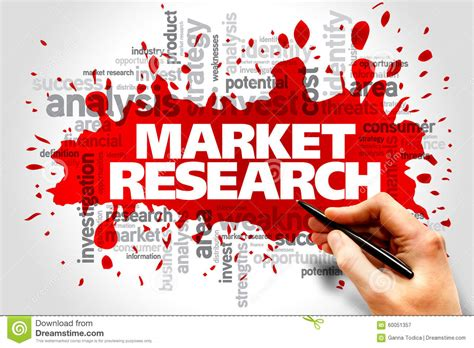 market research stock image image of innovation industry