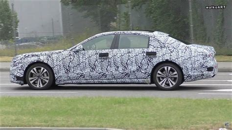 2020 Mercedes Sclass Caught On The Move With New Headlights