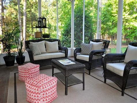 Porch Furniture by 1000 Images About Screen Porch Ideas On