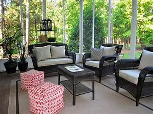 good looking screened porch furniture ideas screen porch With screened in porch furniture ideas