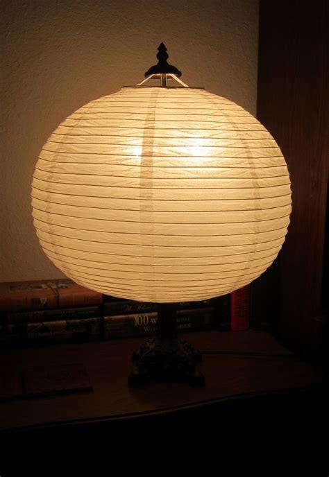 Paper Lantern Floor Lamp Lighting  Ceiling Fans