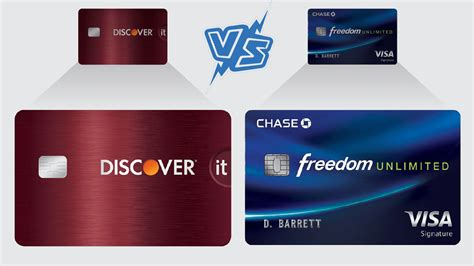 discover  cash  credit card  chase freedom