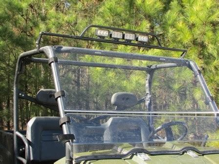 john deere gator light bar seizmik universal led light bar for 1 75 quot bars john deere