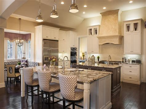 open kitchen design  large island house plans home