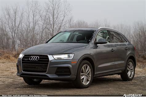 Q 3 Audi by Road Test Audi Q3 Audiworld