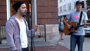 Impromptu sidewalk performance Sunday Morning - Maroon 5 ...