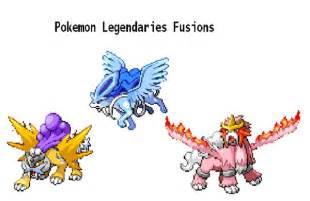 All Legendary Pokemon Fusion