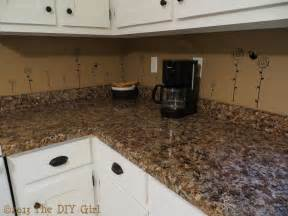 how to put up backsplash in kitchen 70 countertop fix giani granite paint part 2 the diy