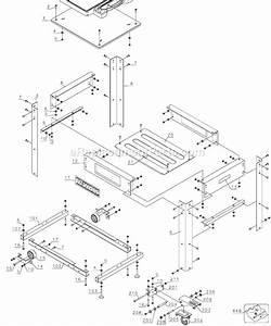 Dewalt Dw7350 Parts List And Diagram