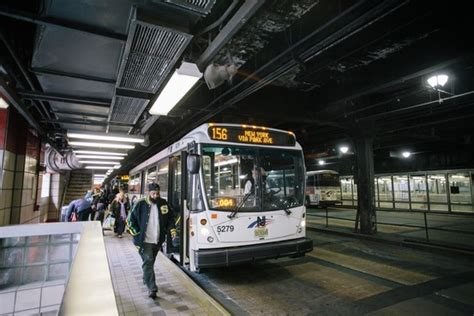 push  replace port authority bus terminal