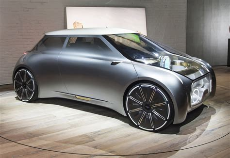 bmw minivan concept new futuristic mini vision concept unveiled new car net