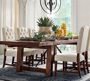 Benchwright, Extending, Dining, Table, Rustic, Mahogany