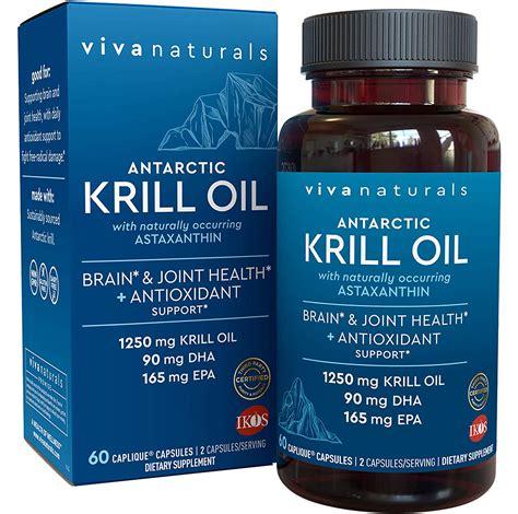 buy viva naturals pure antarctic krill oil  mg