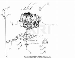 Troy Bilt 13a721jd066 Tb30r Hydro  2018  Parts Diagram For