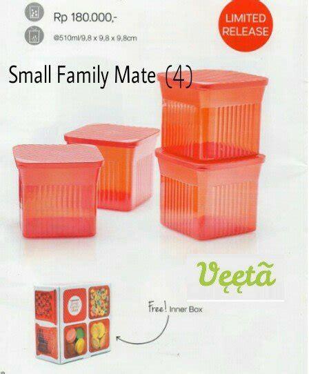 Family Mate Tupperware jual beli tupperware small family mate baru jual