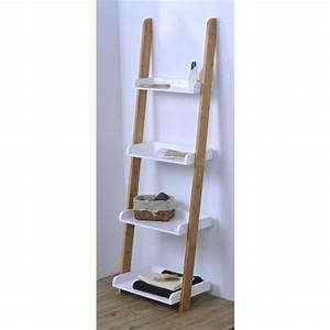 echelle bambou salle de bain gifi chaioscom With meuble de salle de bain gifi