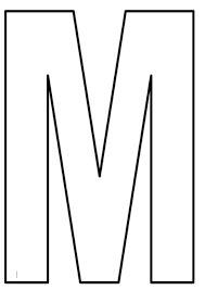 resultado de imagen para moldes de la s letras 3d grandes letras letras letras