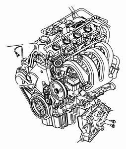 2003 Dodge Isolator  Strut  Engine Mount  Torque Reaction