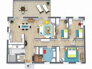 floor plans roomsketcher With fine 3 bed plans images
