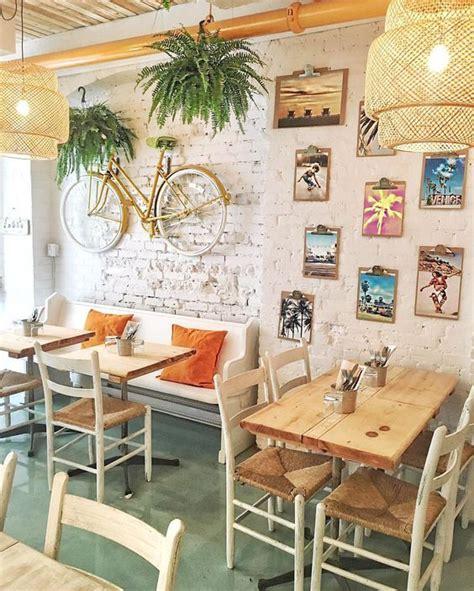 bamboo pendant light cafe interior cafe interior design
