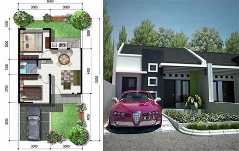 desain rumah minimalis type  beserta interior