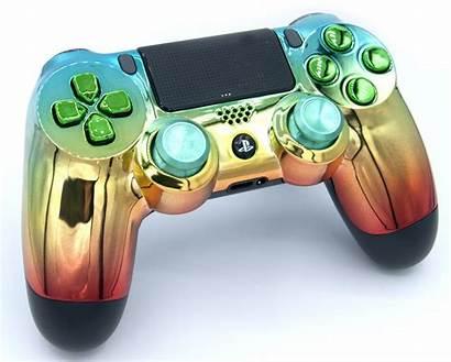Controller Rainbow Playstation Modded Version V2 Ps4