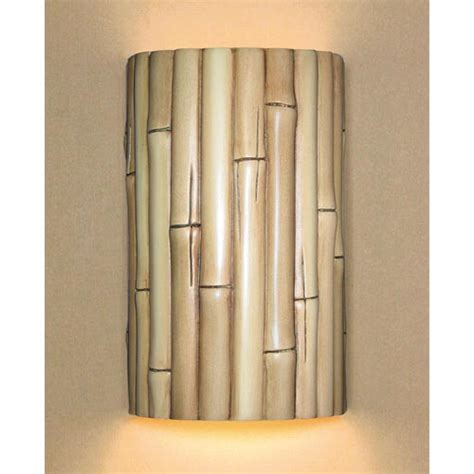 bamboo wall sconce bellacor