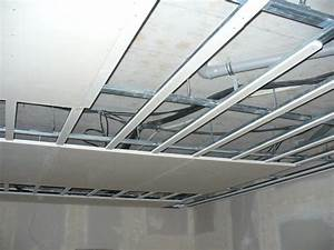 Sadrokartonove stropy konstrukcia