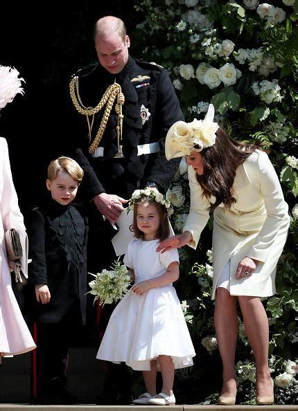 prince george comforted crying bridesmaid  royal