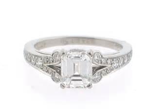 asscher engagement ring antique cartier engagement rings antique auto club