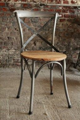 chaise m tal industriel 17 best images about objets salle à manger on