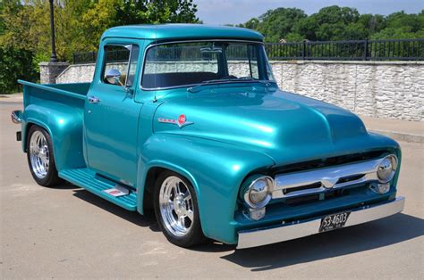 1956 Ford F100 hot rods street rods pickup Pictures - Hot