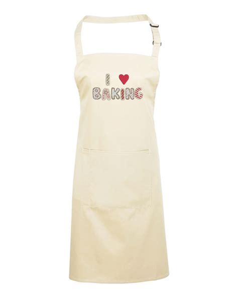 I Love Baking Donut Apron WithCongratulations