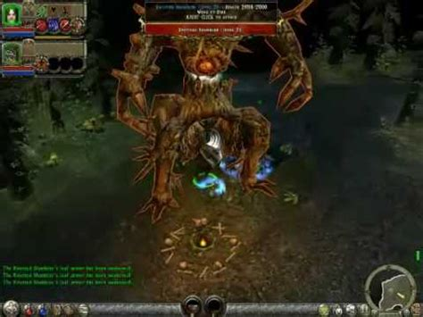 like dungeon siege 2 dungeon siege 2 bosses knotted shambler