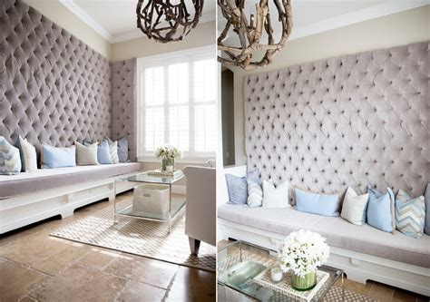 How A Home Could Look Like If It Had Upholstered Walls