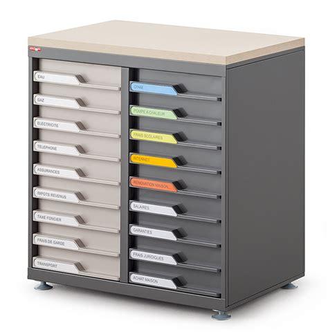bureau a tiroir armoires de bureau à tiroir en façade ubia mobilier