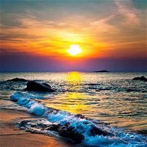Strandbilder Auf Leinwand : sonnenuntergang bilder jetzt motive bei myposter entdecken ~ Watch28wear.com Haus und Dekorationen