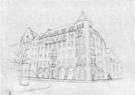 Moderne Häuser Zeichnen by H 228 Usserfassade Haus Geb 228 Ude Altstadt Zeichnen