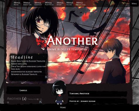 Anime Horor Mirip Another Another