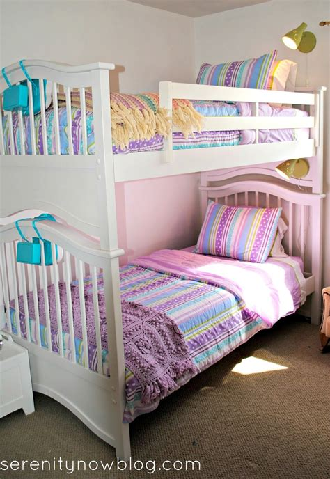 Serenity Now Styling The Girls Bunk Beds