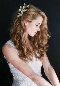 Picture Of charming wedding hairstyles for naturally curly