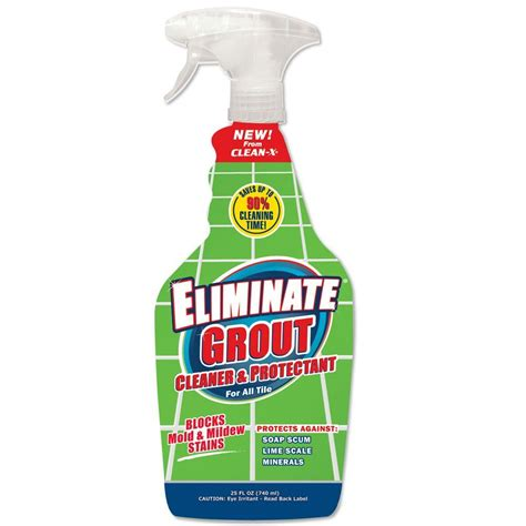 clean x 25 oz grout cleaner 3033 2 the home depot