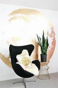 Décoration Murale Dorée : optez pour une d co murale originale pour votre int rieur ~ Teatrodelosmanantiales.com Idées de Décoration