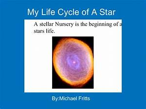 U0026quot My Life Cycle Of A Star U0026quot