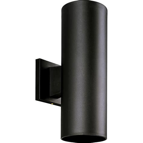 progress lighting p5713 31 cylinder outdoor wall mount fixture