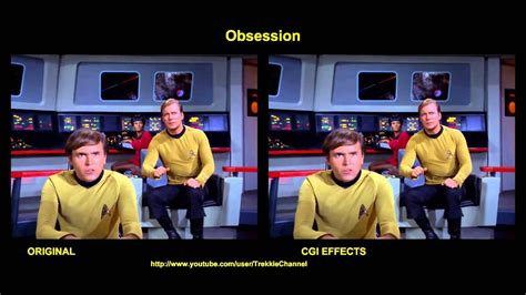star trek obsession special effects comparison youtube