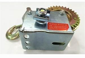 Reversible Manual Boat Motors Mini Hand Winch