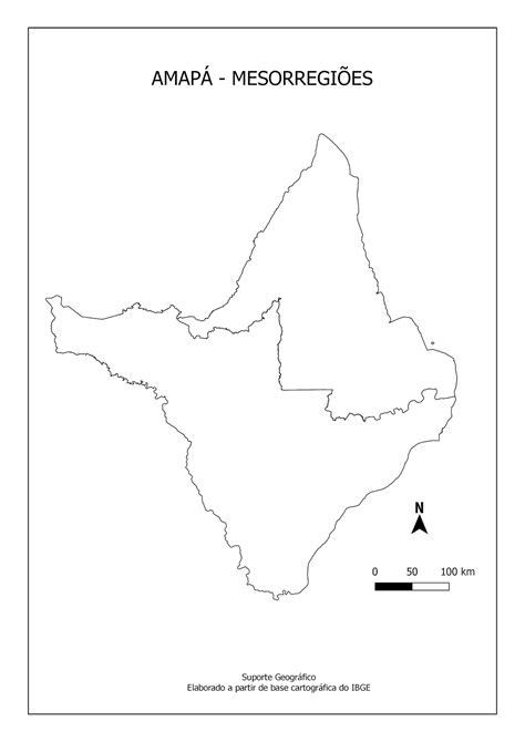 MAPAS PARA COLORIR AMAPÁ Suporte Geográfico