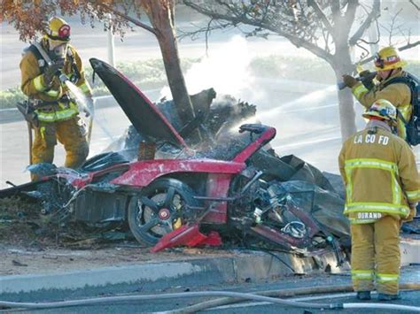 'Fast and Furious' actor Paul Walker dies in car crash - U